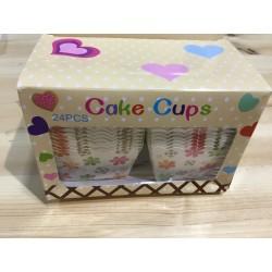 24 Caixas Cupcakes Quadradas