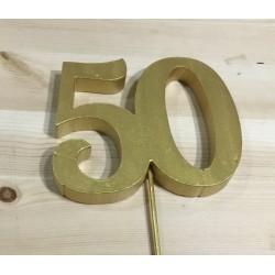 Número 50 Esferovite Ouro...