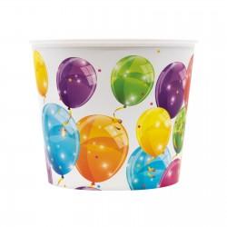 Balde pipocas 2,2l Balões