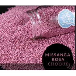Missanga Rosa Choque 75 gr.