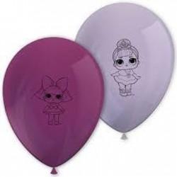 8 balões latex LOL 11