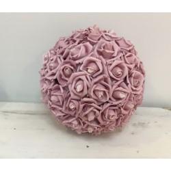 Pompom de flores rosa xl...