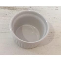 Taça pequena branca 9 cm...
