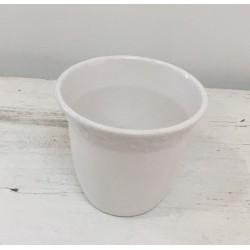 Taça plástico branca 9,5 cm...