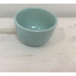 Taça pequena azul 9,5 cm...