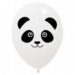 6 balões 11'' impressão Panda