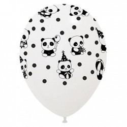 6 balões 11'' impressão...