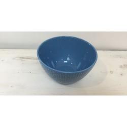 Taça grande azul 20 cm...