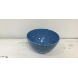 Taça grande azul 25 cm...