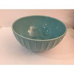 Taça grande azul clara 24,5...