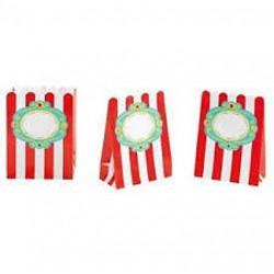 8 sacos papel  circus