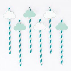 12 palhinhas nuvens