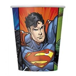 8 copos justice league 270ml