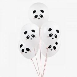 5 balões latex impressos...
