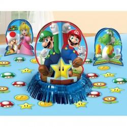 Kit decoração mesa Super Mario
