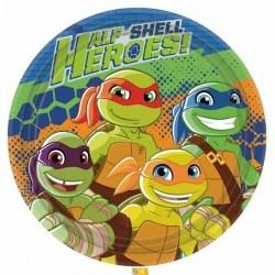 8 pratos Half Shell Heroes...