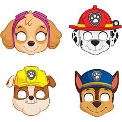 8 máscaras patrulha pata
