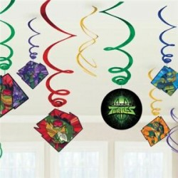 12 peças Swirl Decorations...