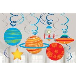12 decorações de teto planetas