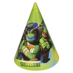 6 chapéus Tartarugas Ninja