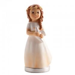 Menina Comunhão com Base 16cm