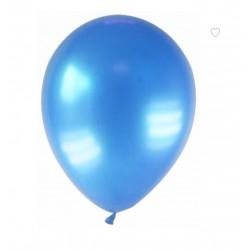 Balão Latex Metalizado Azul