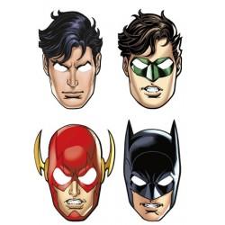 8 Máscaras Justicer League