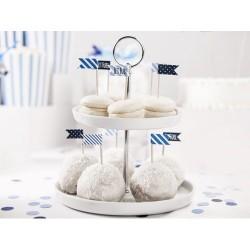 6 mini bandeirinhas cupcake...