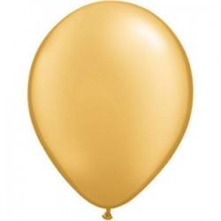 Balões Latex Metalizado Ouro