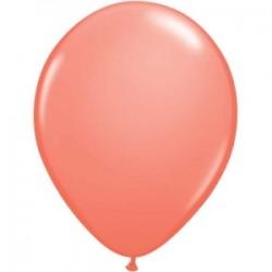 Balões Latex Coral 12