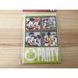 5 Convites Carro Mickey...