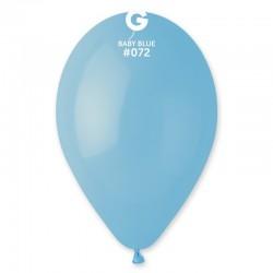 Balão Latex Azul bébé 12