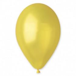 Balão metalizado 12 amarelo