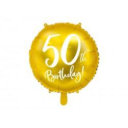 Balão Foil 50th Birthday...