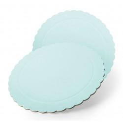 Base redonda azul 35 cm