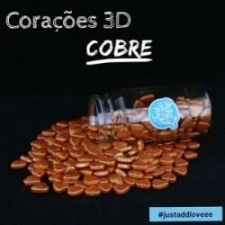 Coarações 3D cobre 75g