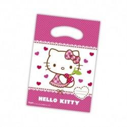 6 Sacos oferta Hello Kitty...