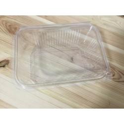 Caixa plástica transparente...