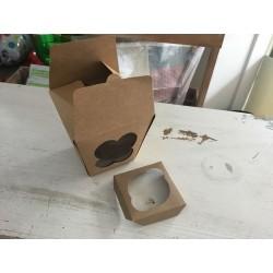 Caixa 1 cupcake 12x12x11cm