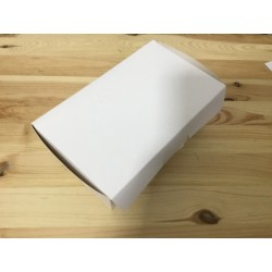 Caixa branca 19.5x11x7.5cm