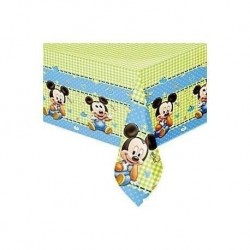 Toalha plástico Mickey Baby...