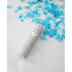 1 tubo de confetis born to...