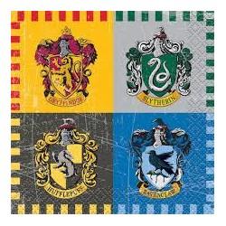 16 guardanapos Harry Potter...
