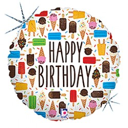 Balão Happy Birthday Gelado...