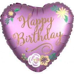 Balão Happy Birthday...