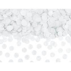 Confettis white 1,6cm - 15g