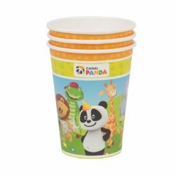 8 copos canal Panda
