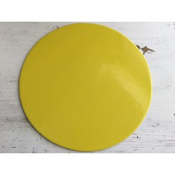Prato nº 30 amarelo