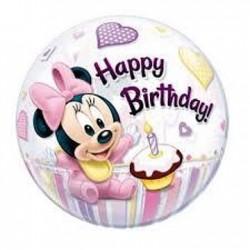 Bubble Minnie 1º aniversário