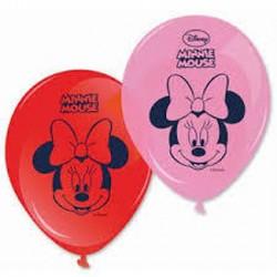 8 Balões 11` Minnie Bow-Tique